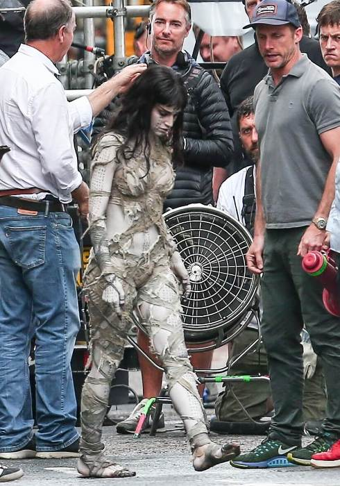 sofia boutella as the mummy