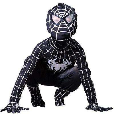 spiderman 3 venom kid costume