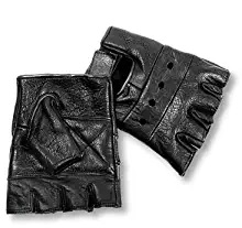 terminator leather gloves fingerless