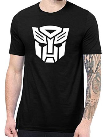 transformer autobot logo shirt