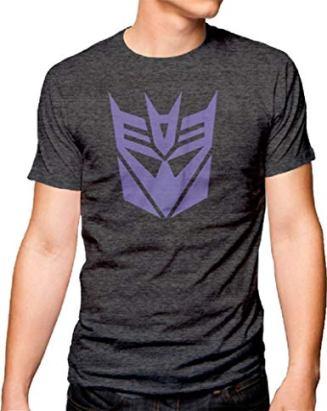 transformer deception logo shirt