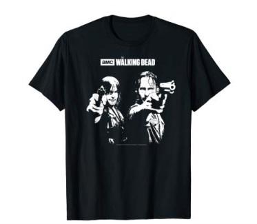 walking dead black t shirt