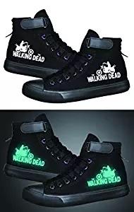 walking dead luminous shoes