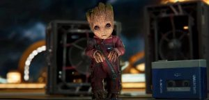Baby Groot In Vol.2