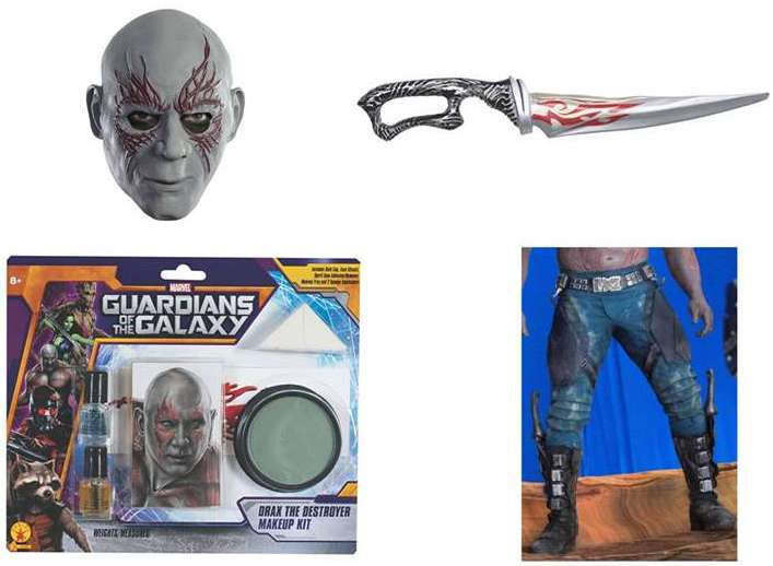 Complete Drax The Destroyer Cosplay
