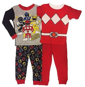 Power Ranger Pajamas Have The Super Comfortable Clothing