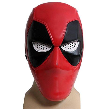 Deadpool Plastic Half Mask