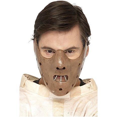 Fiberglass Hannibal Lecter Half Mask
