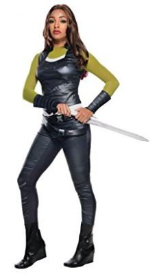 Deluxe Inspired Costume (Product Page)  sc 1 st  Film Jackets & Gamora Costume - Awesome and Simple DIY Guide