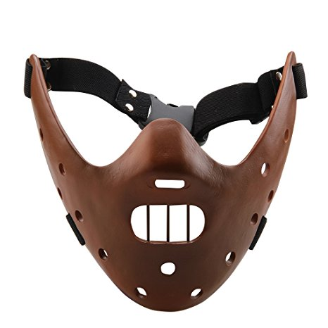 Hannibal Lecter Mask Replicabrown