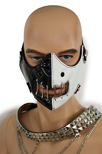 Hannibal Mask Black White