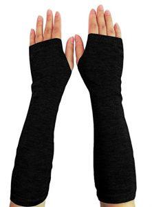 Long Fingerless Gloves 221x300