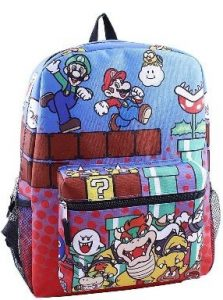 Mario All Characters Backpack 223x300