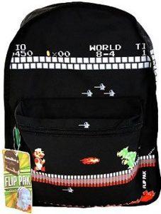 Mario Classic Retro Game Backpack 227x300