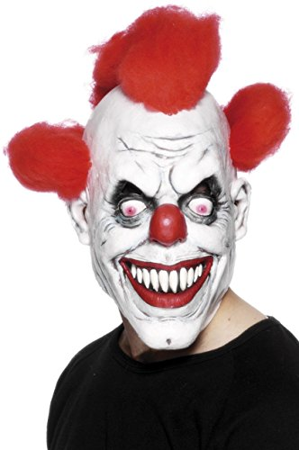 Red Eyed Clown Mask