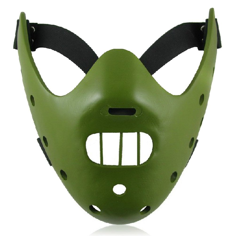 SILENCE OF THE LAMBS HANNIBAL Resin Mask Green