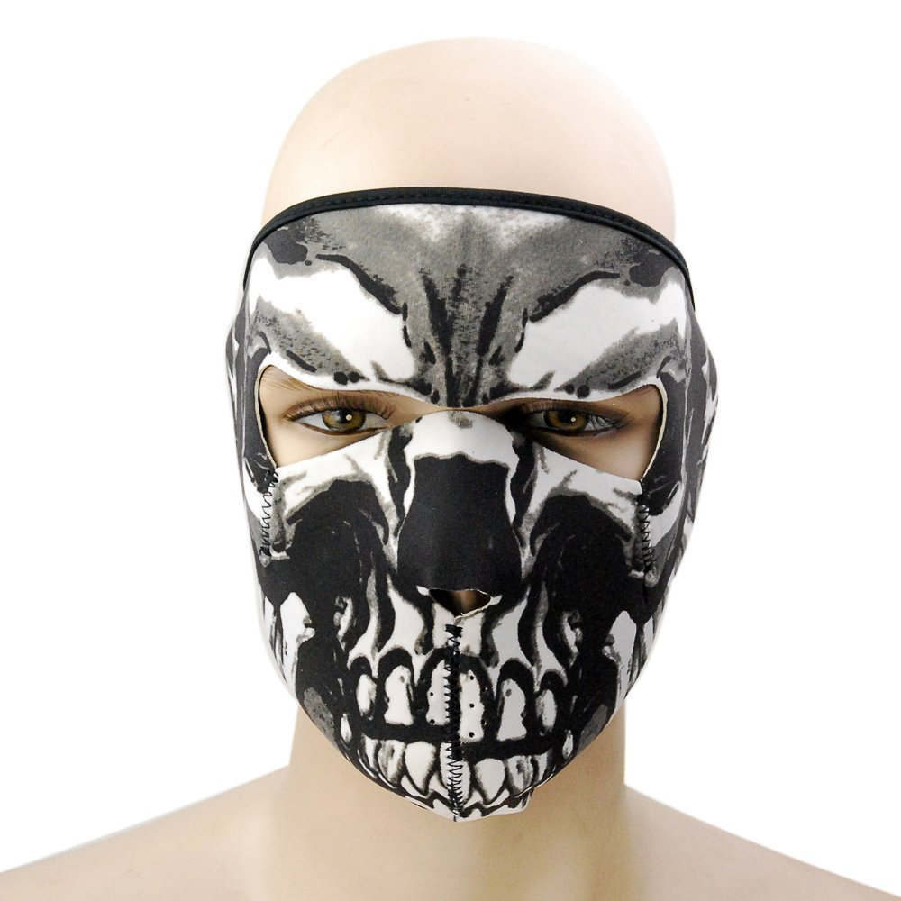 Intimidating But Cool - Unisex Skull Masks For The Adults