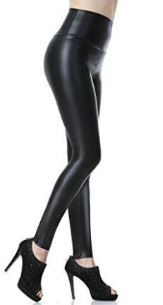 Smooth Texture Black Legging For Women