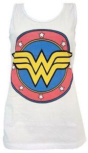 Wonder Woman Logo Ladies Tank 173x300