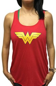2eba56024b0bf Her personality has captured the heart of every woman and if that includes  you too then gear up yourself in our chosen Wonder Woman Tank Top  Collection to ...