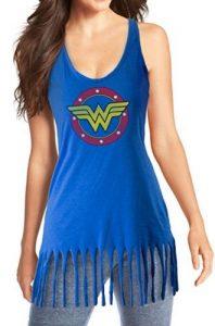 Wonder Woman Tank Cover Up Blue 198x300