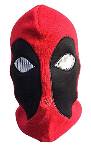 deadpool mask red black mask