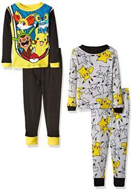 pikachu pajama set