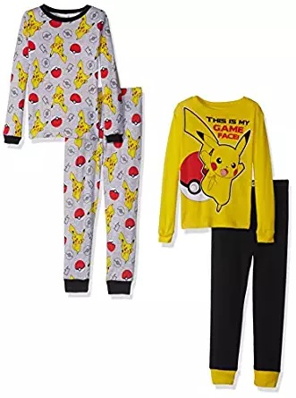 pikachu sleeping set pajama