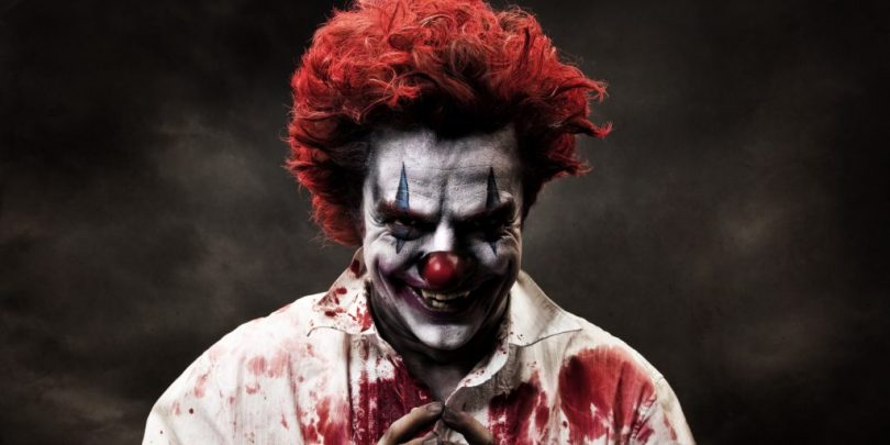 the most freakishly scary clown mask collection