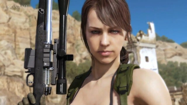 MGS V The Phantom Pain Quiet