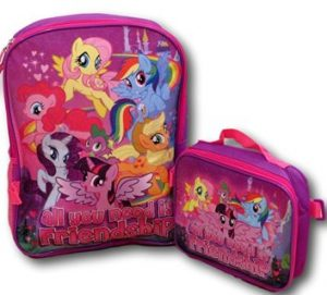 My Little Pony Backpack And Lunch Bag 300x271