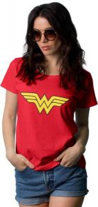 Wonder Woman Red T Shirt 142x300