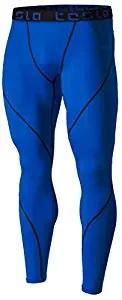 base layer trouser blue leggings