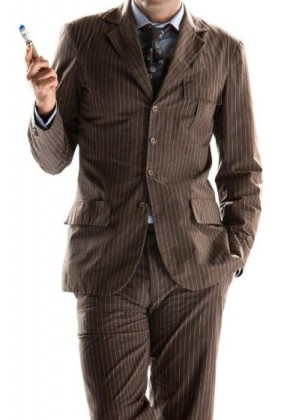 brown suit for man doctor who