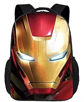 iron man bag pack