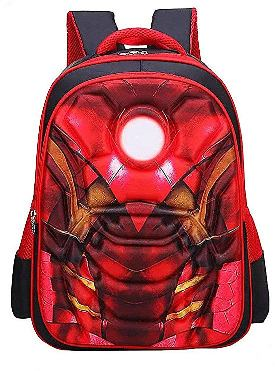 iron man red bag