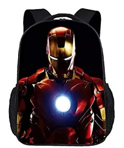 iron man suit school bag kids