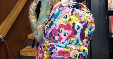 My Little Pony Backpack 375x195