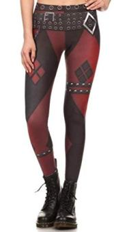 printed harley quin trouser