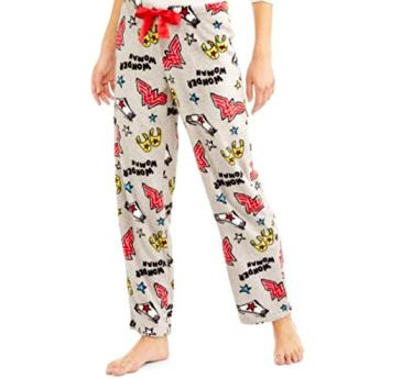 wonder woman pajama trouser
