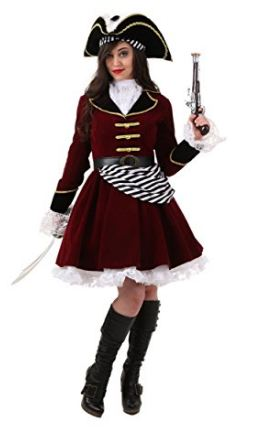 Captain Hook Women Costume