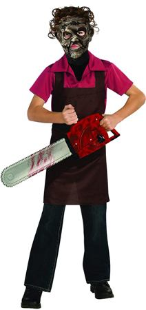 Child's leatherface costume