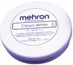 Clown White 300x269