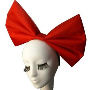 Cosplay Halloween Red Bowknot 300x290