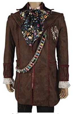 Mad Hatter Alice Costume Suit