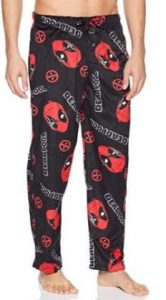 Marvel Men's Dead Pool Lounge Pants