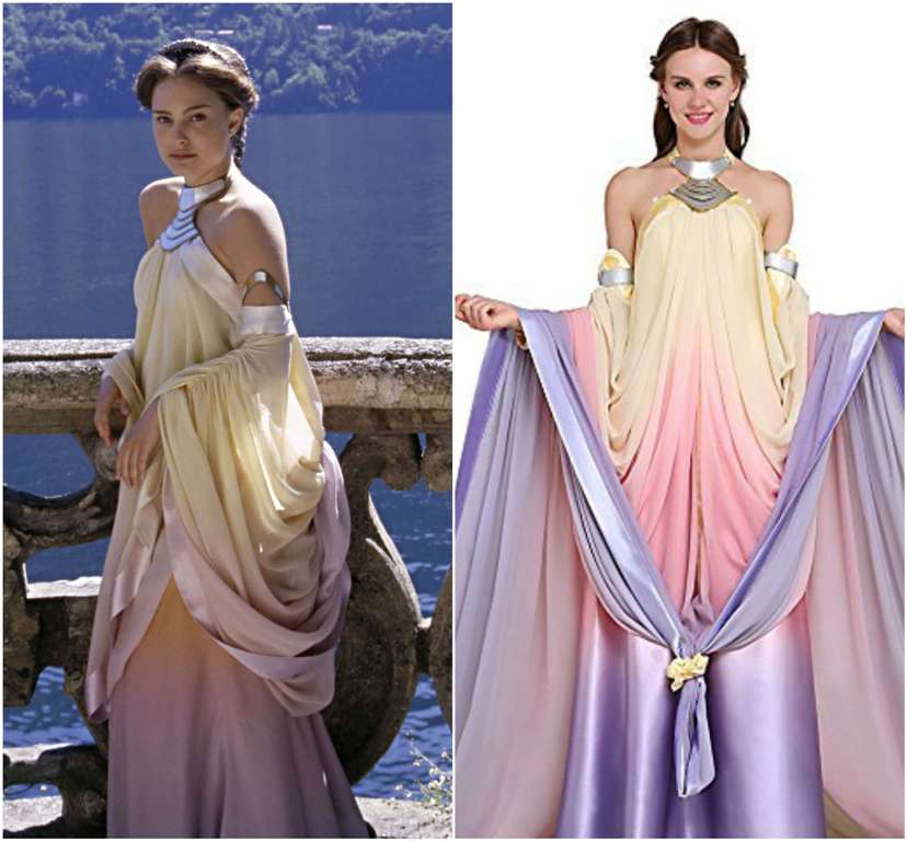 Padme amidala costume cosplay guide - Princesse amidala star wars ...
