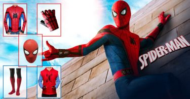 Spider Man Costume DIY 375x195
