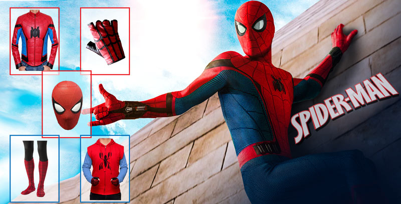 Exclusive Guide to Spider Man Costume Collection & Spiderman Costume | Cosplay Mask with Gloves and Shoes
