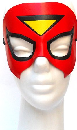 Spider Woman Leather Mask